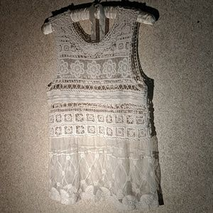 Lacey camisole blouse